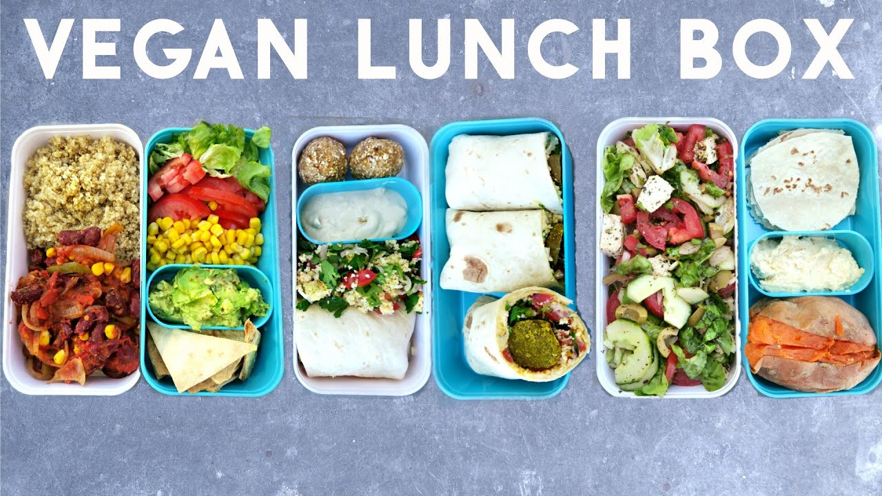 3 vegan healthy lunch box ideas bento youtube. Black Bedroom Furniture Sets. Home Design Ideas