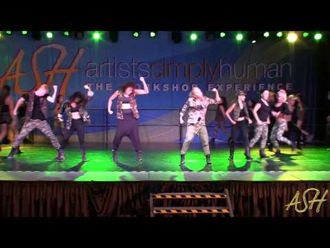 """""""Military Power"""" - Choreographed By: Lisette Bustamante (theCOMPANY Intensive 2013)"""