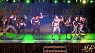 """Military Power"" - Choreographed By: Lisette Bustamante (theCOMPANY Intensive 2013)"