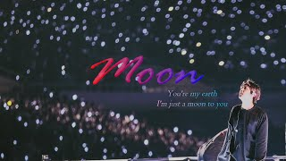 Gambar cover Moon (가사) BTS JIN (방탄소년단 진) Music Video