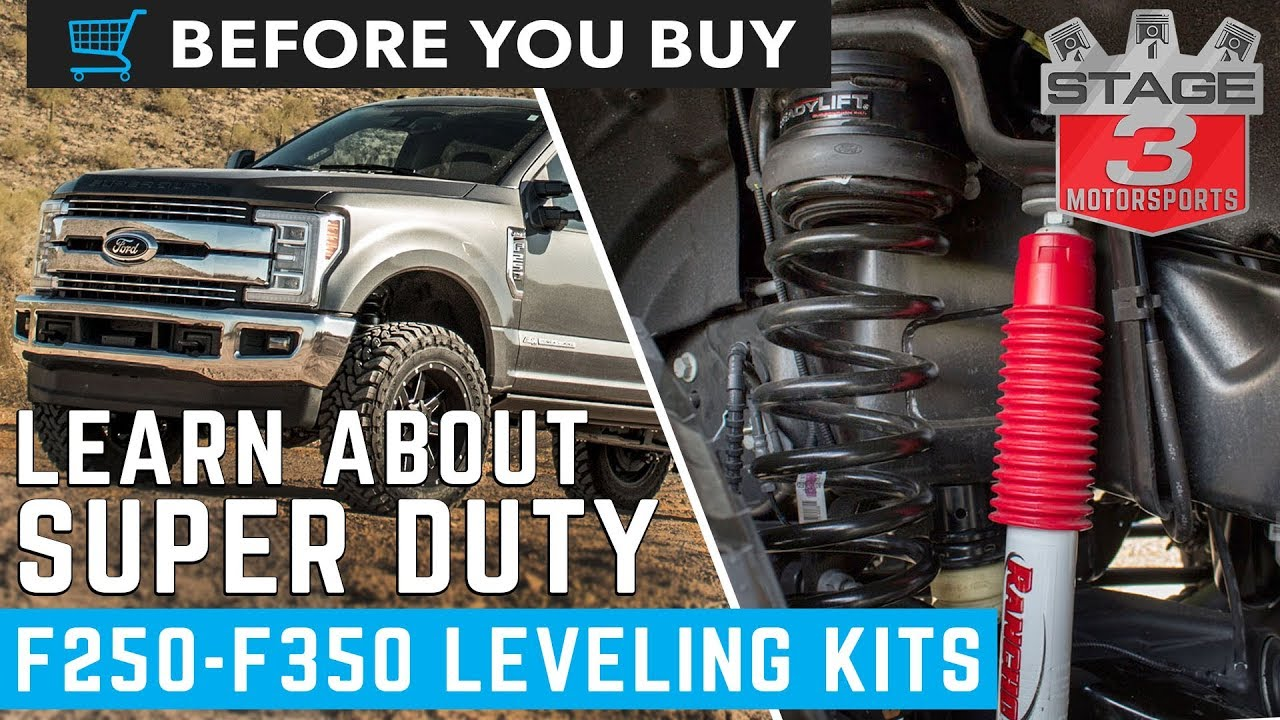 2018 Ford Super Duty >> Before You Buy: F250 / F350 Leveling Kits - YouTube
