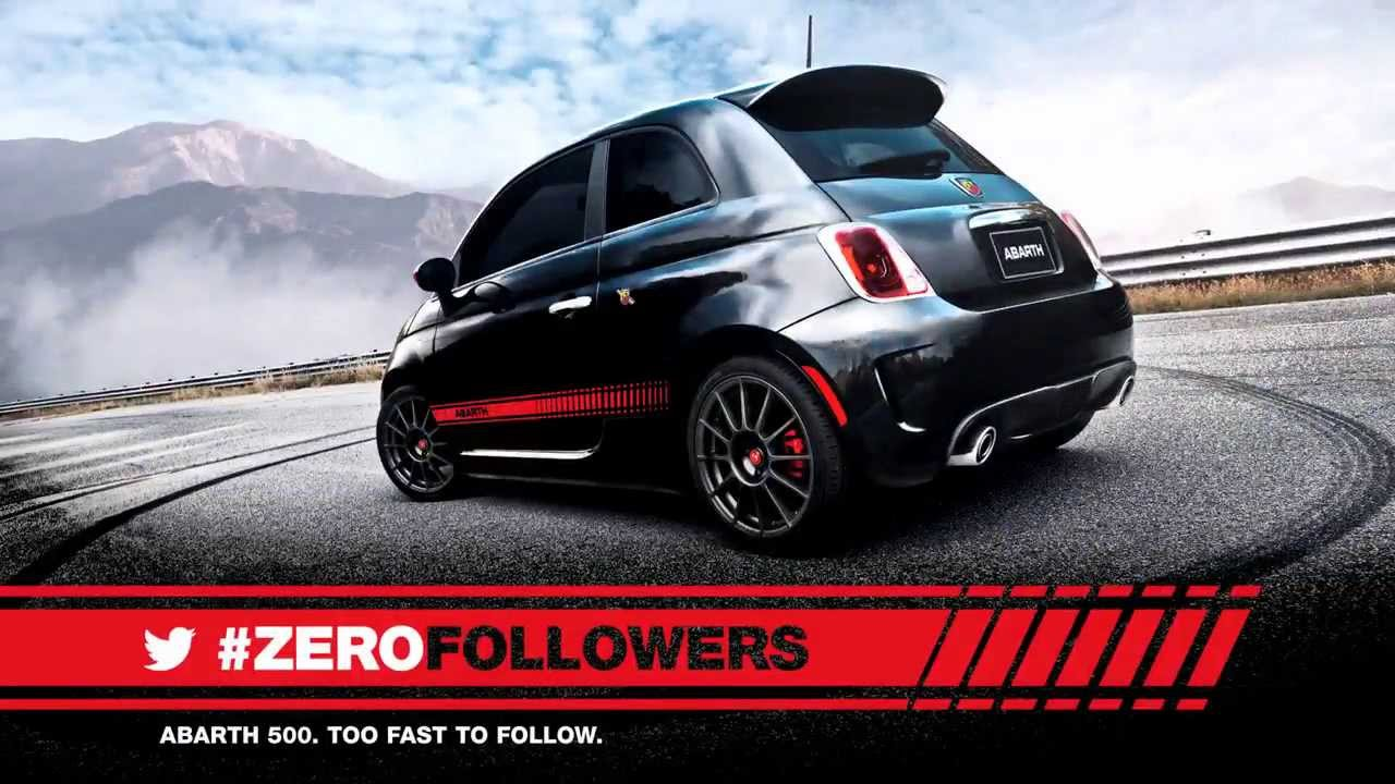fiat abarth 500 zero followers leo burnett duesseldorf youtube. Black Bedroom Furniture Sets. Home Design Ideas