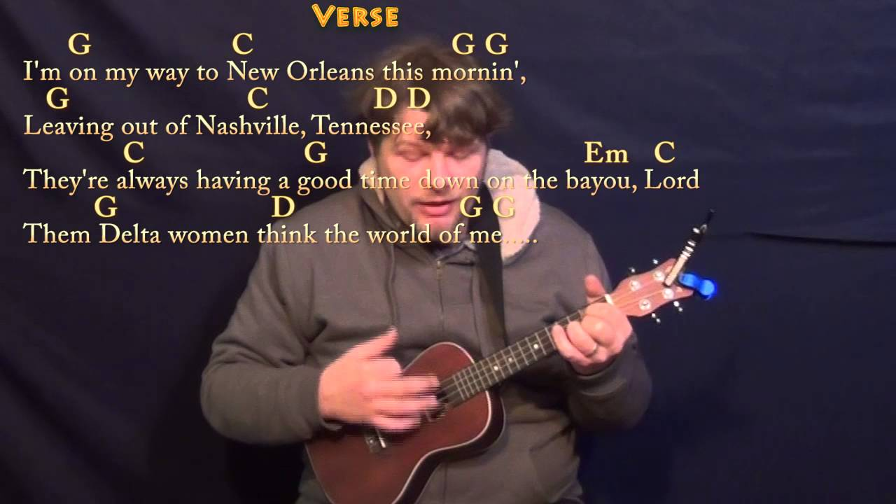 Ramblin Man Allman Brothers Ukulele Cover Lesson In G With Chords