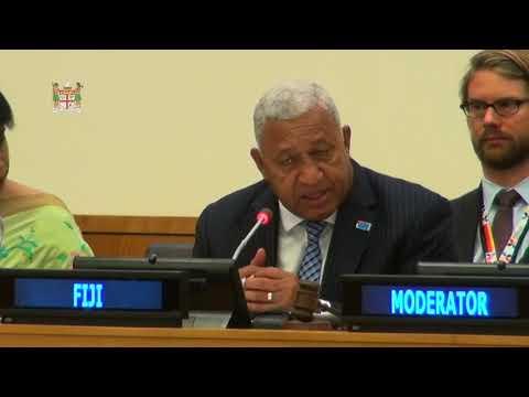 Fijian Prime Minister speech  on UNFCCC COP 23 preparation