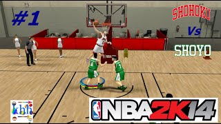 khh - NBA2k14  modAnime Basketball #1 shohoku vs shoyo