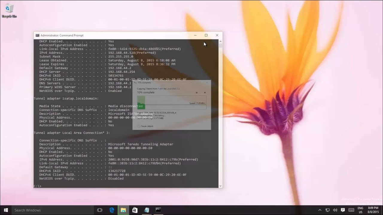 How to Use New Command Prompt - CMD Line Console in Windows 10 Tutorial
