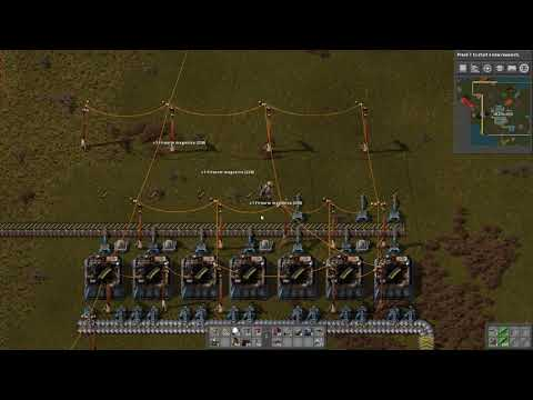 Factorio Lets Play Part 12 Basic Steel Crafting