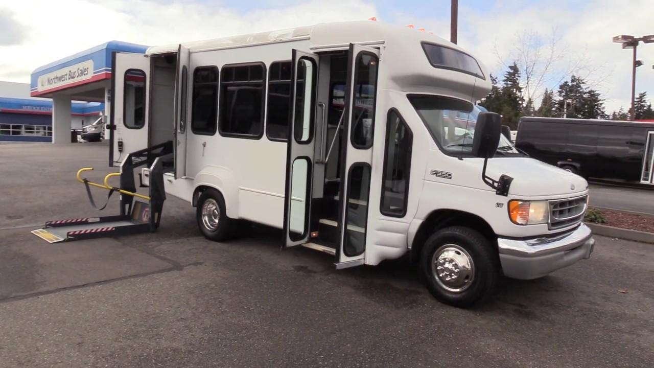 2002 ford starcraft 8 passenger ada shuttle bus s50172 [ 1280 x 720 Pixel ]