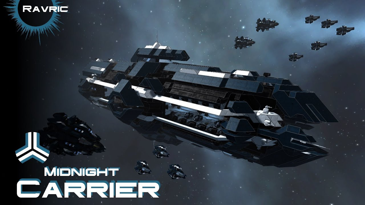 Space Engineers - Midnight Carrier - YouTube