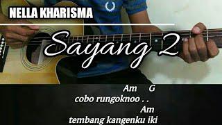 Chord gitar | Nella kharisma - Sayang 2 [VERSI UYE TONE]