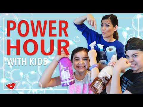 Power Hour: Get Your Kids To Clean! | Kimberly from Millennial Moms