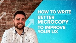 How to Write Better Microcopy to Improve Your UX - Proposify Biz Chat