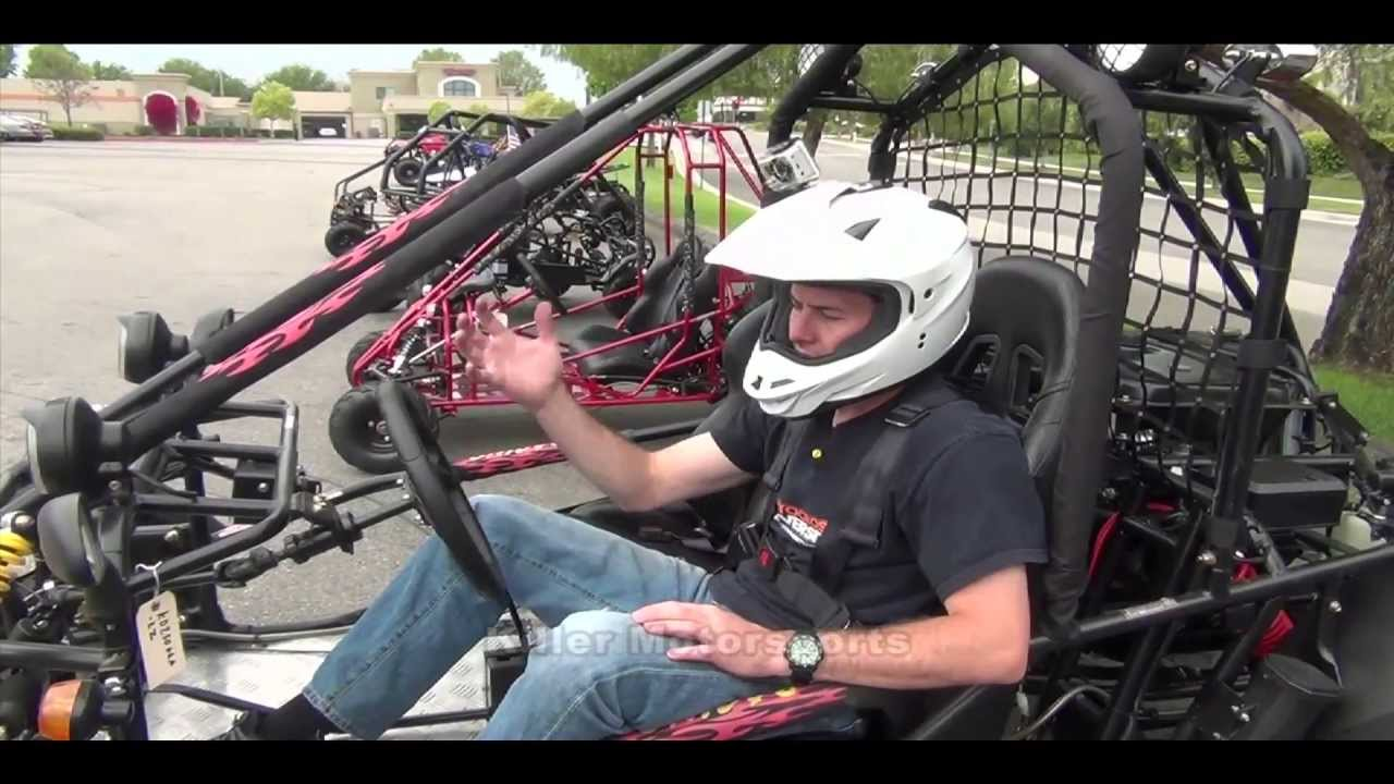 Killer Motorsports KD250GKA 2Z Kandi Go Kart Demo