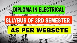 6Th Semester Diploma Electrical Syllabus