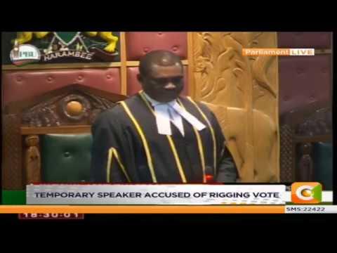 Uhurus tax proposals sail through amid chaos in parliament