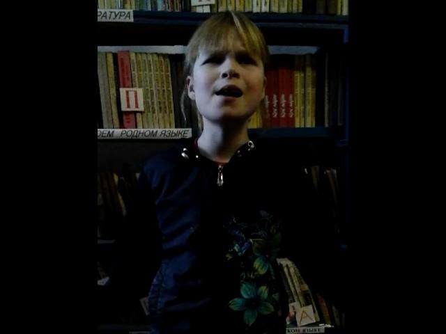 Изображение предпросмотра прочтения – КаринаКувшинова читает произведение «Отрывок из поэмы Руслан и Людмила» А.С.Пушкина