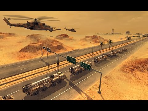 Реалистичная Стратегия про Войну в Пустыне! Игра Warfare