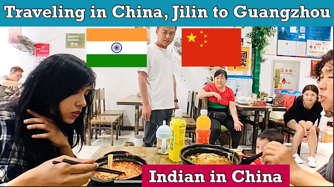 Traveling Jilin to Guangzhou vlog | Visiting a friend in Changchun | Indian girl in China