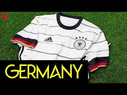 Adidas Germany 2020 Home Soccer Jersey Unboxing + Review