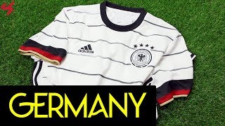 Adidas Germany 2020 Home Soccer Jersey Unboxing Review