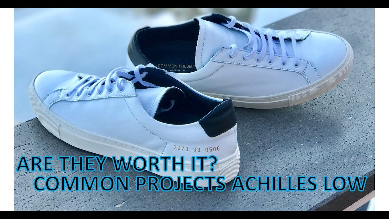 c0004b9e8a35 Are they worth it  - Common Projects Achilles Low Retro - YouTube