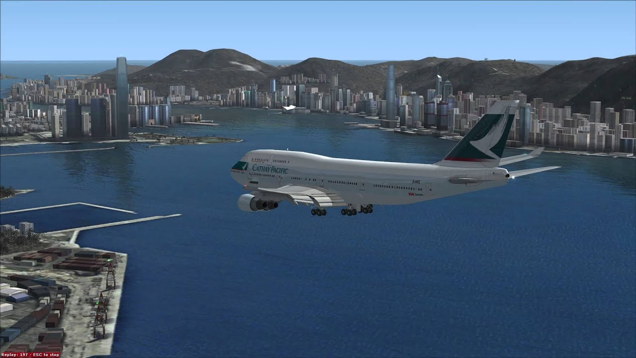 fsx cathay pacific boeing 747