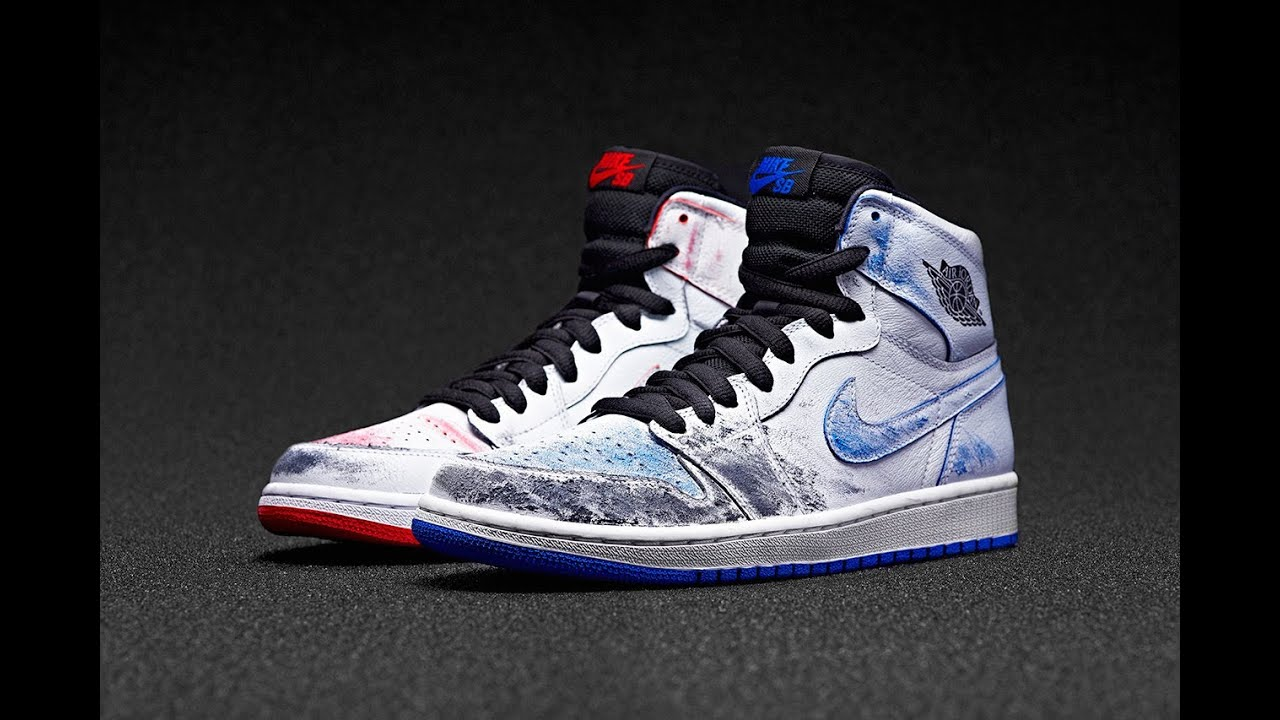 HYPE ALERT: Nike SB x Air Jordan 1 by Lance Mountain (SCOOP208) - YouTube