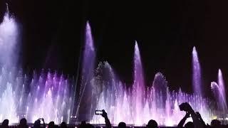 Multimedia Water Show at Fanateer Corniche - Jubail Saudi Arabia