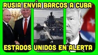 RUSIA MANDA APOYO MILITAR A CUBA Y VENEZUELA. ESTRATEGIA DE DEFENSA CONTRA ESTADOS UNIDOS