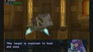 Megaman X8.- Burn Rooster Stage Hard Mode (No Damage)