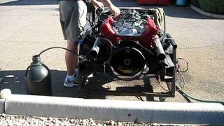 TA Performance Buick 350 Engine Build, Idling