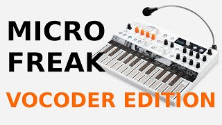 MicroFreak Vocoder Edition @Arturia PRESENTATION and SOUND EXAMPLE French + captions