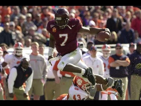 "Michael Vick Virginia Tech Highlight Video || ""Electrifying"" 