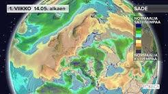 Toukokuussa sademäärä jää tavanomaista pienemmäksi