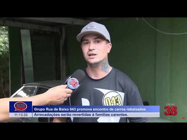 ARAPONGAS REALIZA EVENTO DE CARROS REBAIXADOS NESTE DOMINGO (26)