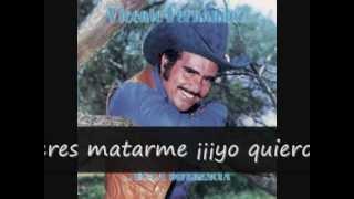 Vicente Fernandez Yo Quiero Ser Tu Marido (letra)