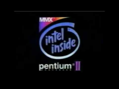 Intel Inside - Pentium II Animation with Improved Audio