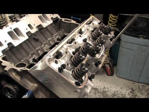 how to build a 358 chevy engine