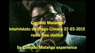 Corrado Malanga intervistato da Diego Cimara radio free station 27- 03- 2015