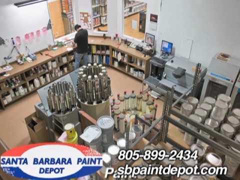 Santa Barbara Paint Depot, Santa Barbara, CA