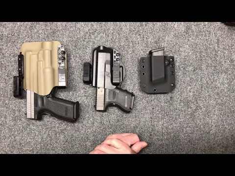 The Best AIWB Glock 26 Holster! Bravo Concealment Torsion beats StealthGear USA, AlienGear.