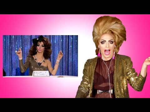 Alyssa Edwards' Secret - Reacts to Violet Chachki as Alyssa on Snatch Game from RuPaul's Drag Race