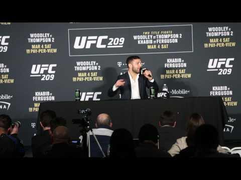 David Teymur vs Lando Vannata UFC 209 Post Fight Press Conference