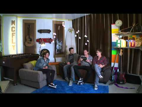 McFly - 2011 - On The Wall - Challenges 1 - 6 + Acoustic Sessions 1 - 6 - All In One Video