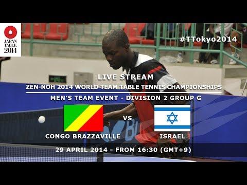 #TTokyo2014: Congo Brazzaville - Israel
