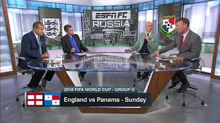 England vs Panama WC2018 Preview COURTESY OF ESPN