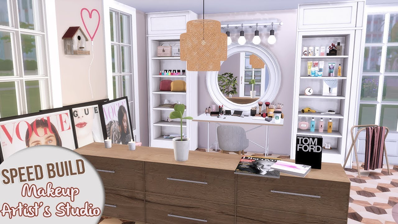 Makeup Artists Studio Cc Links The Sims 4 Speed Build