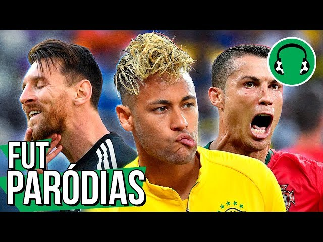 ♫ BRASIL EMPACOU, CR7 brilhou e Messi pipocou | Paródia Locked Out Of Heaven - Bruno Mars