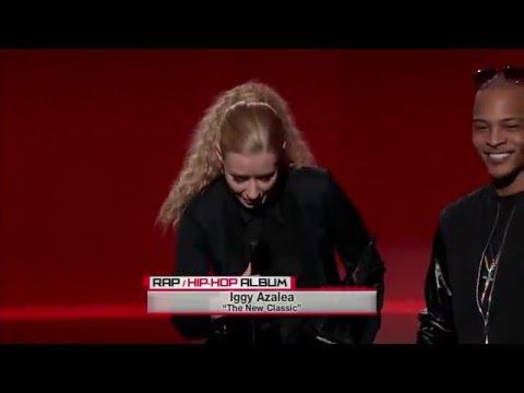 Iggy Azalea Wins Favorite Rap/Hip-Hop Album - AMA 2014
