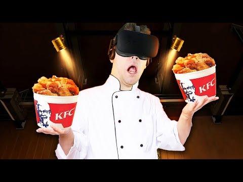 KFC Escape Room Training! - KFC The Hard Way Gameplay - VR Oculus Rift